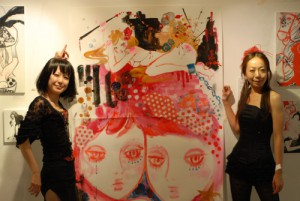 Ra'yka  個展 Live Painting