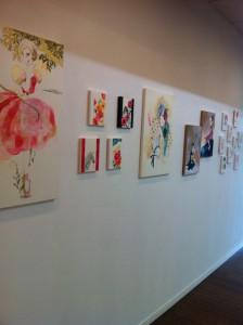 sioux個展2012 花と動物