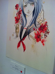 sioux 個展2012 花と動物