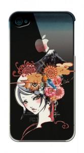 sioux 美人画 ガールズイラスト iPhone4ケース